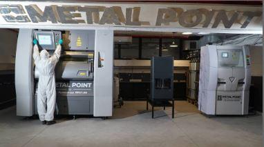 מרכז Metal Point להדפסה במתכת
